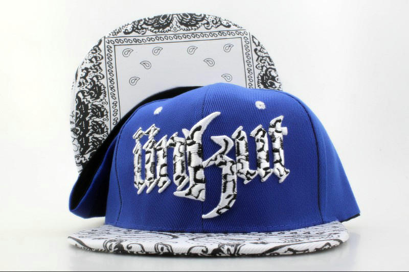 Unkut Monster Blue Snapback Hat QH 0701